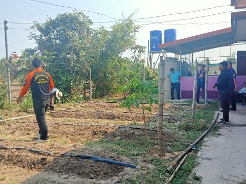 17 กุมภาพันธ์ 2564 บำเพ็ญสาธารณประโยชน์ศูนย์พัฒนาเด็กเล็กบ้านกระ