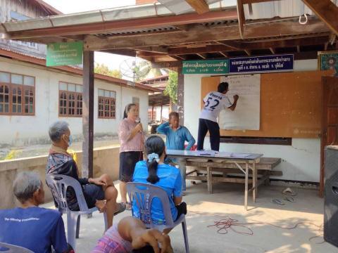 ประชาคมแผนชุมชน ประจำปี 2564